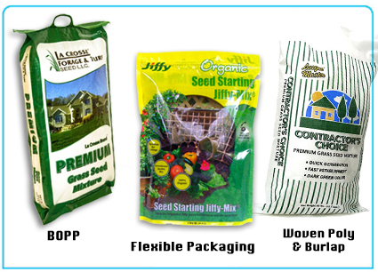 woven poly flexible packaging paper netting burlap